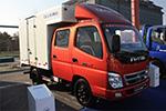 深耕快递物流市场  福田汽车拿下百世物流300台大单