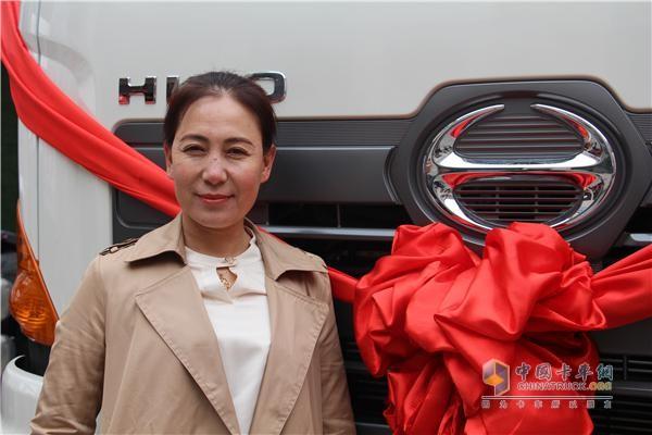 隆昌汽车贸易有限公司总经理任淑平