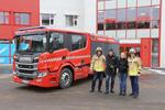 消防新贵 首辆全新斯堪尼亚P360底盘主战消防车改装完毕