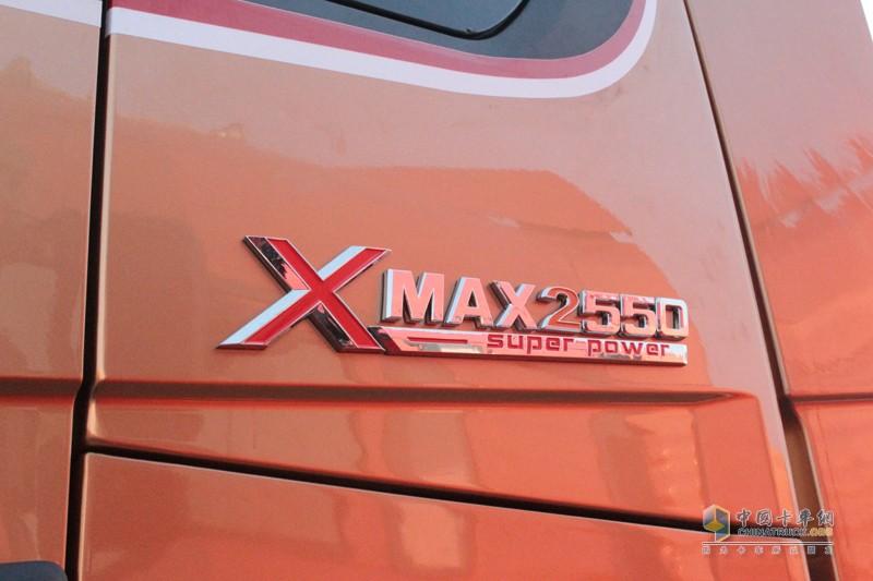 陕汽建厂50周年纪念版,2550代表发动机的输出扭矩,大马力,大力气!
