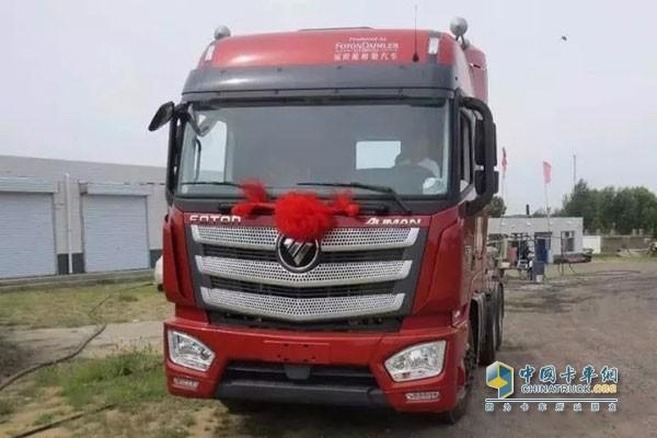 欧曼est超级卡车 让您新年动力十足一定旺图片