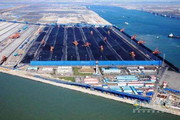 曹妃甸港口煤炭运输量巨大