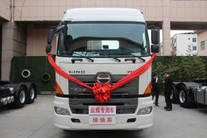 广汽日野700臻值系 420马力 6×4牵引车