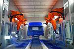 智能时代 福田时代首条智能机器人喷涂生产线正式上线