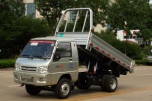 福田驭菱V1汽油双排自卸汽车