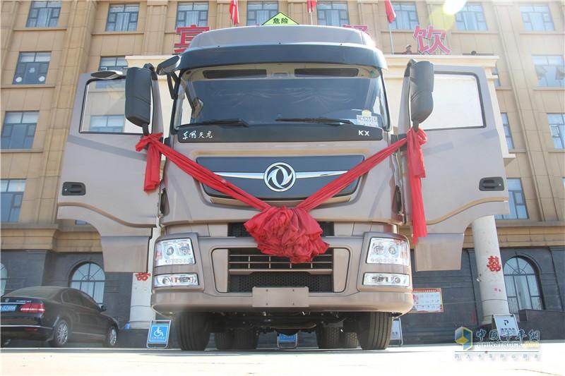 东风天龙旗舰ISZ520危化品运输车