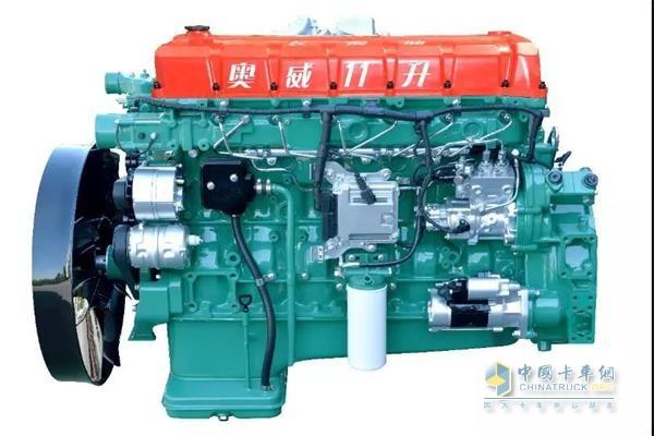 锡柴奥威11升长换油发动机