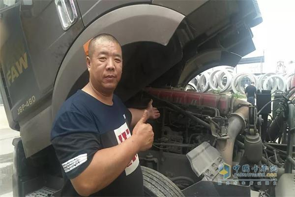 杨鹏用使用的奥威11L长换油发动机