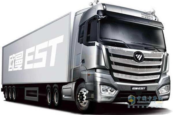 贡献高效运输新方案 50辆欧曼EST超级卡车交付东北用户