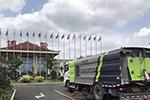 营造整洁环境 中联环卫车辆助力博鳌亚洲论坛