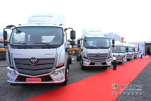 欧马可超级卡车DPF车型
