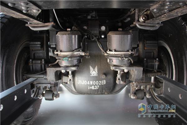 威龙的ABS系统相较于竞品而言布置更合理