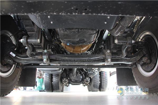 江铃威龙局部加强版设计,极大降低车架重量
