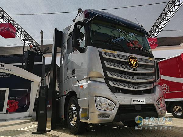 福田戴姆勒欧曼EST2.0超级卡车
