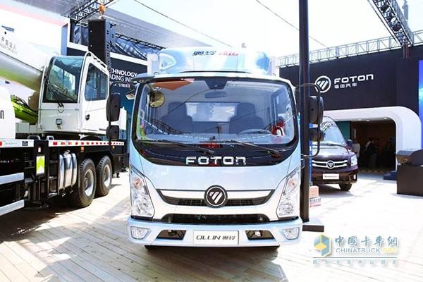 奥铃速运搭载了福田汽车智能物联网系统