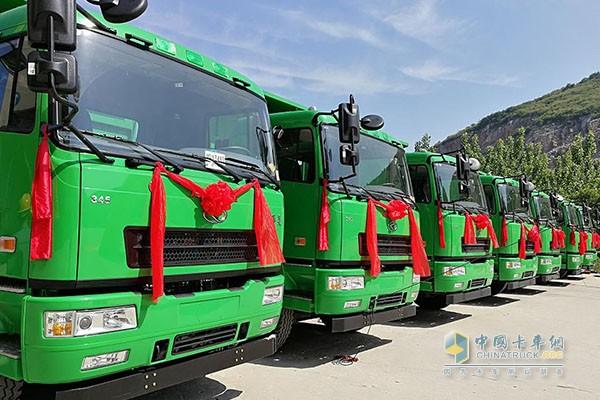华菱自卸车,践行绿色环保理念