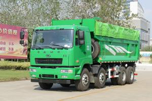 华菱重卡 345马力8×4 6.5米自卸车