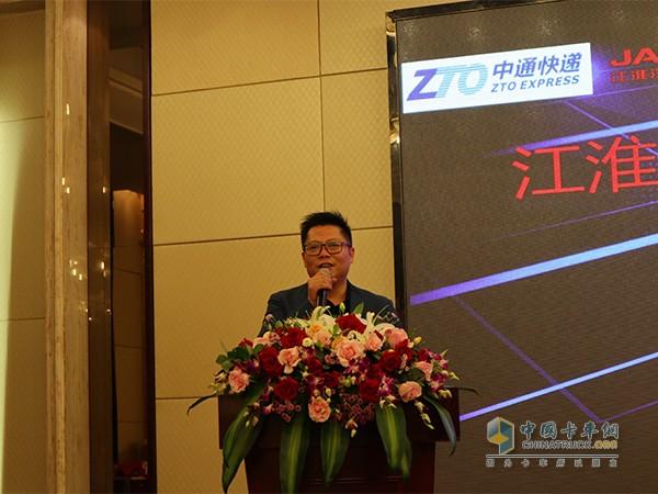 江淮重型商用车营销公司副总王军