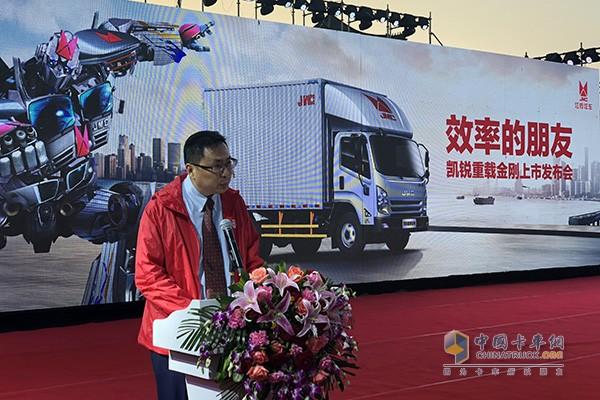 康明斯中国发动机事业部市场及营销总经理黄海涛先生