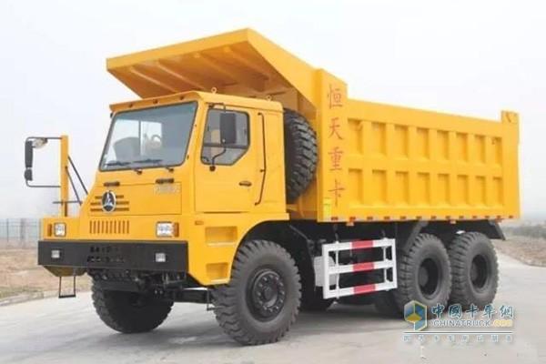 矿用自卸车车