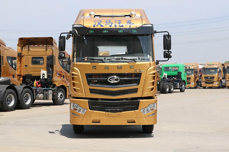 华菱 汉马H7重卡 345马力 4×2 牵引车(HN4180H33C6M5)