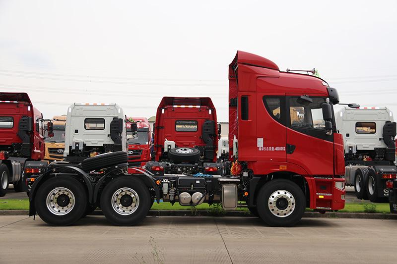 华菱 汉马H9重卡 420马力 6×4 危化品牵引车(HN4255A48C4M5)