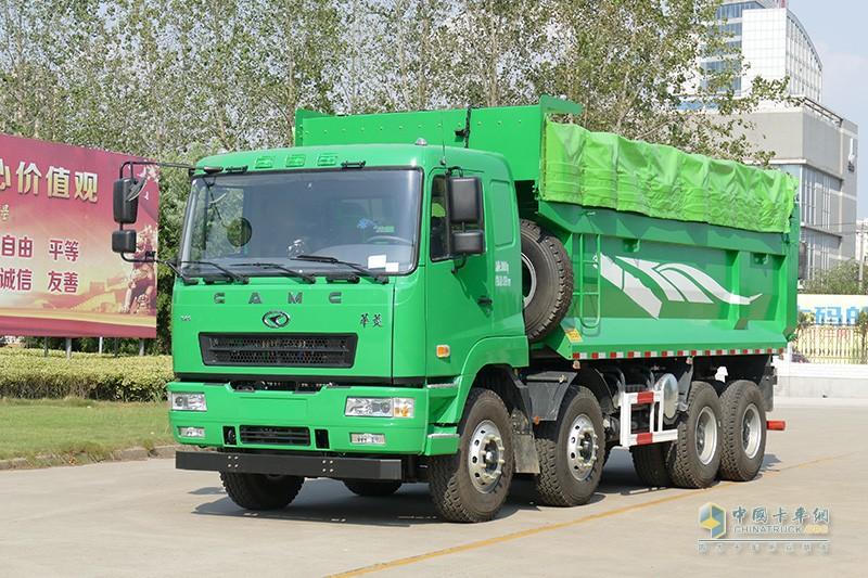 华菱重卡 345马力 8×4 6.5米自卸车(HN3310B34B8M5)