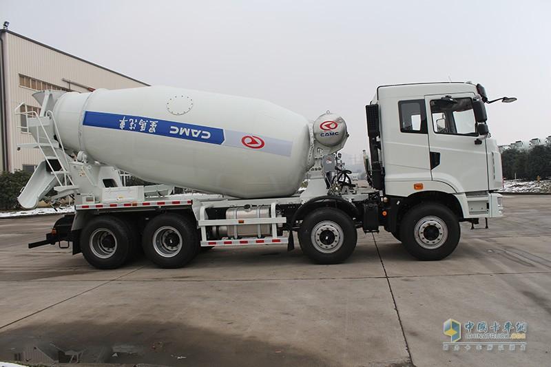 华菱星马 345马力 8×4 搅拌运输车(AH5310GJB1L5)