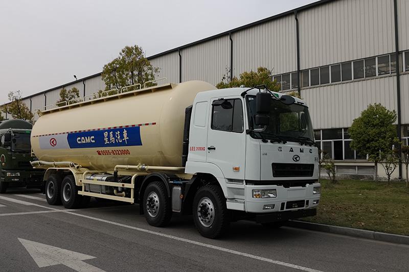 华菱重卡 310马力 8×4 干混砂浆车(AH5314GFL0L5)