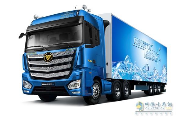 欧曼EST冷链运输车