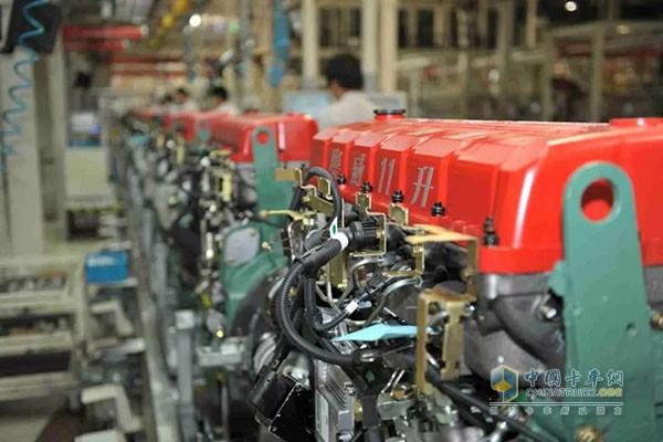 锡柴重型发动机生产线创下6项国内之首