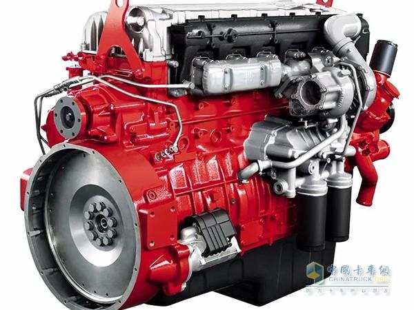 华菱汉马H7牵引车搭载的发动机