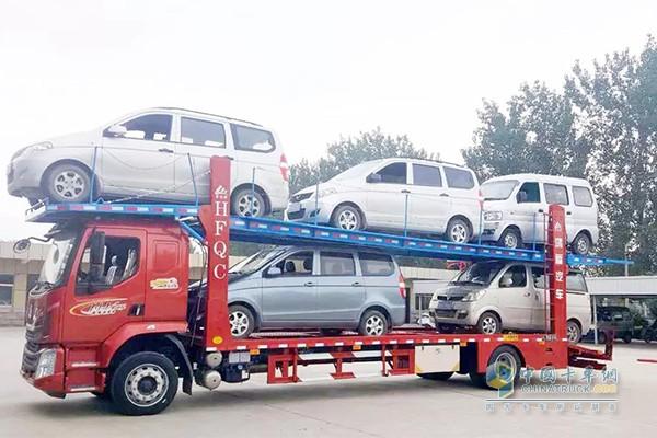 东风柳汽乘龙M3轿运车