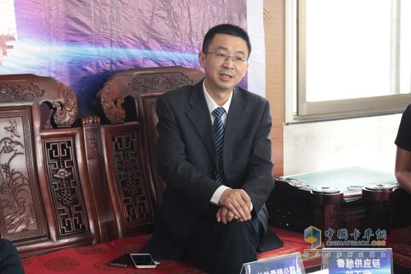 江淮轻型商用车营销公司总经理助理、帅铃营销公司总经理张中