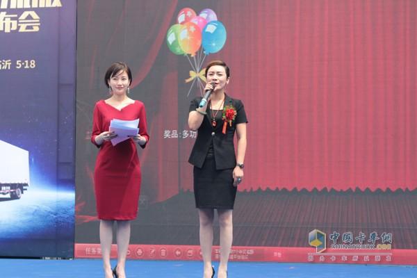 山东鲁驰供应链管理有限公司的总裁刘玉莹女士