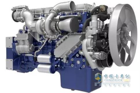 乘龙H7 2018款搭载的潍柴WP13系列发动机