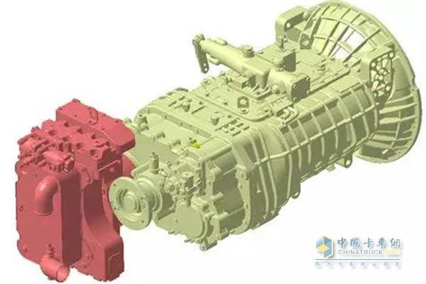 乘龙H7 2018款配备并联式液力缓速器
