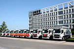 服务上合峰会 斯太尔M5G压缩式垃圾车两批次交付青岛