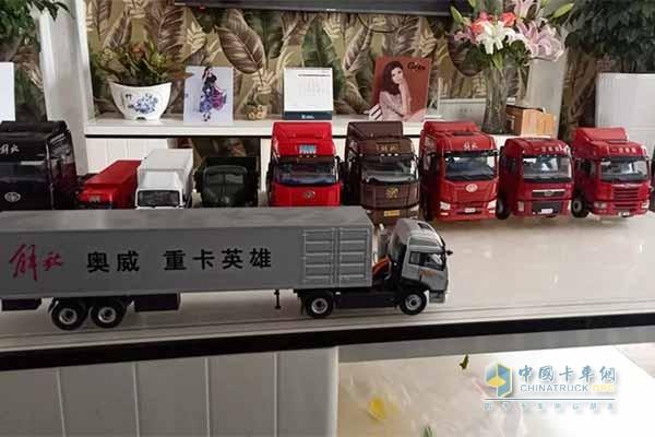 赵君收藏的车模