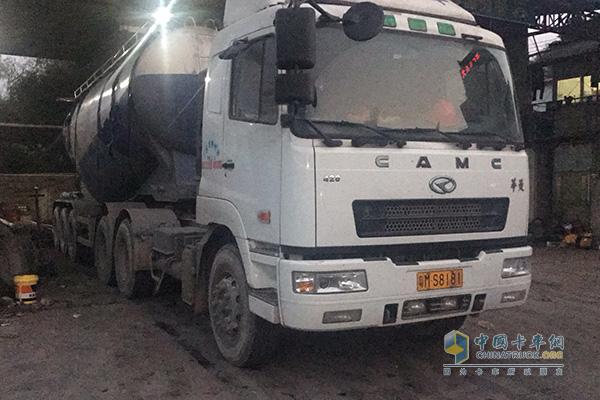 梅州志锐货物运输有限公司购买的华菱汽车