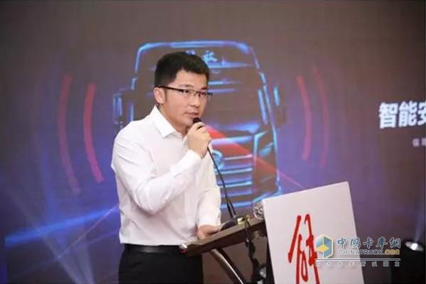 一汽解放汽车销售有限公司内蒙古商代处经理 苏兴亮