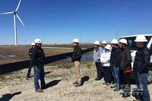 康明斯协助一家印第安纳风力发电场扩建