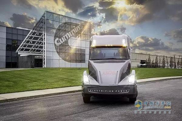 2017年,康明斯发布AEOS纯电动概念重卡,公司将进一步加大在电动动力的投入