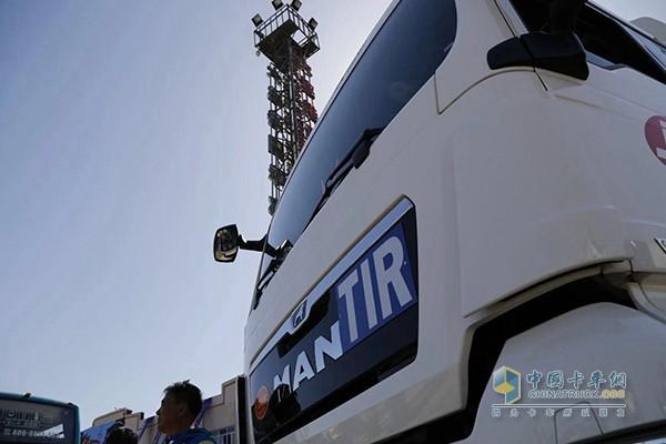 曼恩牵引车荣膺中俄国际道路运输首批试运行车辆