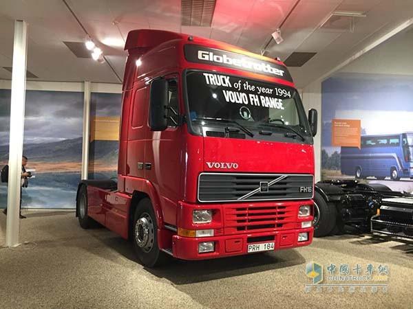 获得1994年年度卡车称号的沃尔沃FH16