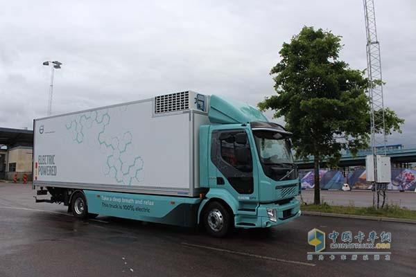 针对城区物流配送的FL 电动卡车
