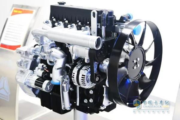 中国重汽MC04发动机