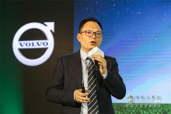 沃尔沃卡车客户方案总监杨光喜