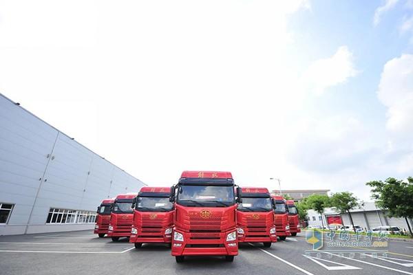 解放卡车的重要生产基地和中国卡车行业的骨干企业