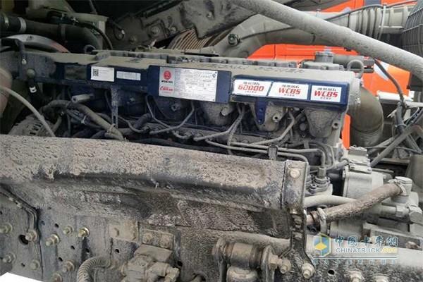 欧曼专属定制的潍柴发动机WP13